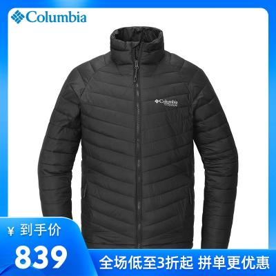 哥倫比亞城市戶外男裝3D熱能反射保暖防水棉服棉衣WE0874