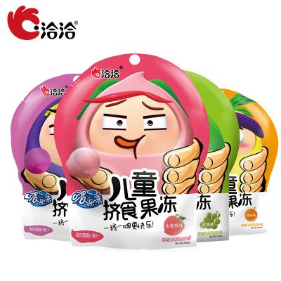 【洽洽_啵乐冻儿童挤食果冻120g*1袋 葡萄味】恰恰儿童挤食果汁啵乐冻果冻吸果冻布丁零食