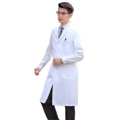 醫護職業套裝冬裝白大褂男長袖短袖實驗服學生護士服醫生工作服男士工裝制服 威珺