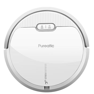 致洁(Pureatic )V2 扫地机器人智能家用全自动超薄吸尘器 自动回充 弓形规划 扫吸拖式 适用120㎡-150㎡