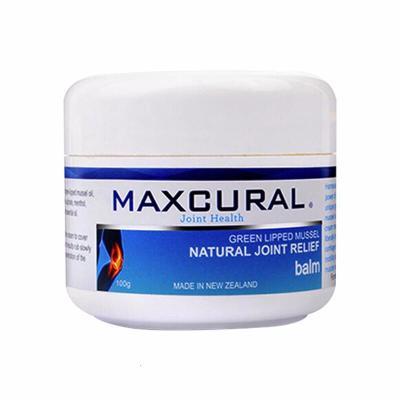 MAXCURAL 新西兰进口 外用关节膏 绿唇青口贻贝关节外用膏100g 1瓶