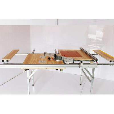 折叠锯台木工工作台多功能便携式升降装修推台锯倒装木工作台