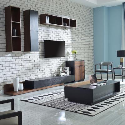 北歐邊柜黑胡桃木色沙發邊幾現代簡約客廳角幾電視柜邊柜角柜定制 (全黑)650×400×800mm