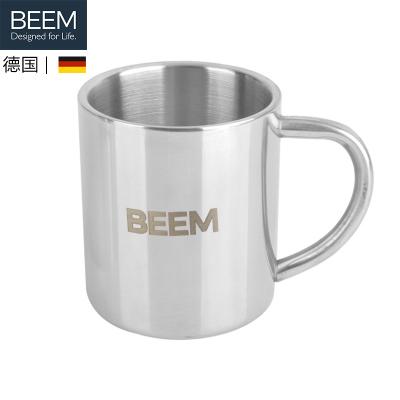 BEEM咖啡機配件不銹鋼杯子1只(200ml*1)