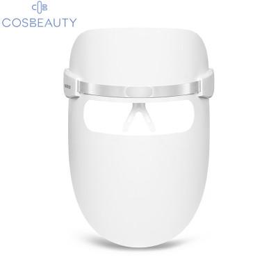 可思美(COSBEAUTY) CB-LM01 彩光面膜儀光子嫩膚儀面膜儀led大排燈美容面罩紅藍光美容儀