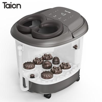 泰昌(TAICHANG)足浴盆TC-12BZ4S全自動按摩洗腳盆電動按摩加熱家用泡腳桶足療機深桶