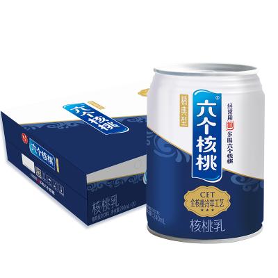 【官方旗艦店】養元六個核桃 精典型 240mml*20罐 核桃乳 植物蛋白飲料