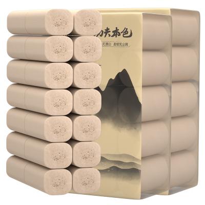 植護原生竹漿水墨畫卷紙*50卷整提裝加厚 衛生紙抽紙巾卷筒紙