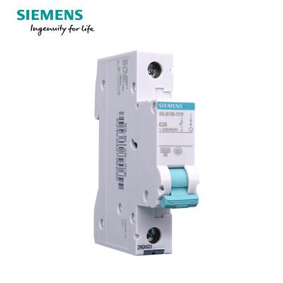 西门子(SIEMENS) 空气开关1P单进单出 25A标准型断路器 5SJ61257CR