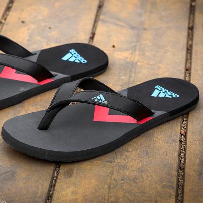 阿迪達斯(adidas)拖鞋男戶外沙灘鞋游泳涼鞋運動人字拖男鞋F35025/F35024