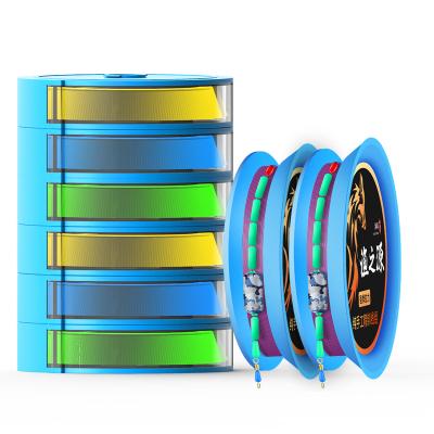 漁之源魚線套裝全套釣魚線成品主線組綁好成品大物線組盒超強拉力