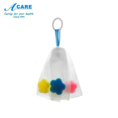 小號1個#acare起泡網洗面奶手工香皂打泡器泡沫潔面肥皂網泡袋子
