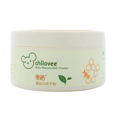 親諾(chilovee)嬰幼兒痱子粉100g 有機玉米淀粉 嬰幼兒痱子粉 緩解皮膚瘙癢 疼痛