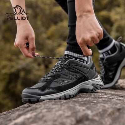 伯希和戶外低幫登山鞋男女防水透氣減震防滑耐四季磨徒步鞋