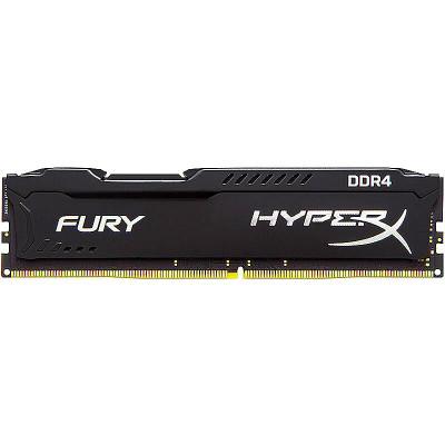 金士顿(Kingston) 骇客神条Fury系列 8GB DDR4 2400 台式组装机电脑内存条(新老包装随机发货)