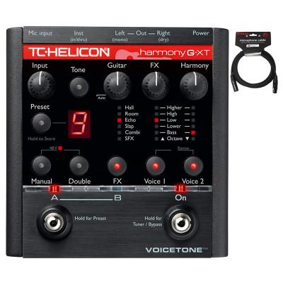 正品 TC-Helicon VoiceTone Harmony-G XT彈唱吉他人聲綜合效果器