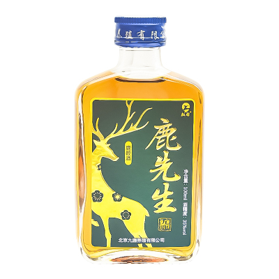 鹿先生lu鞭酒100ml35度可搭男性保健品金戈 性藥偉腎寶片哥瑪卡保健酒養生酒補酒