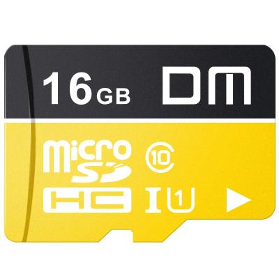 DM 16GB TF卡(MicroSD)存儲卡 C10 TF-U1金色系列 行車記錄儀安防監控攝像頭專用高速內存卡