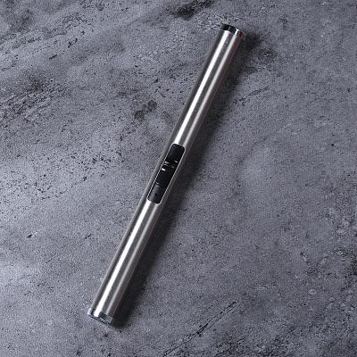 敖世香薰蜡烛熄灭烛器铃铛罩无烟环保工具金属烤漆三色木芯适合 银色脉冲点火器(充电)