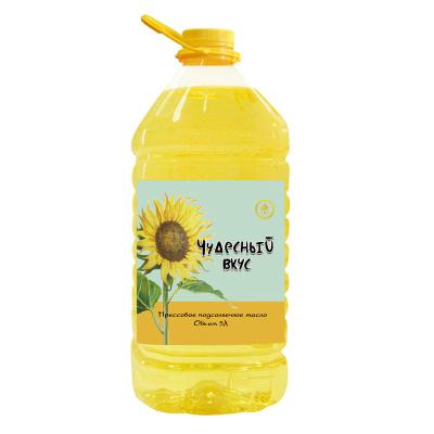 丽兹葵花籽油 食用油 物理压榨 乌克兰原装进口 5L