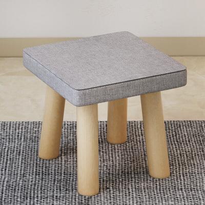 騰煜雅軒 簡約現代小戶型客廳家具木質沙發凳家用小凳子方凳矮凳凳子沙發凳換鞋凳四角凳蘑菇凳子圓凳