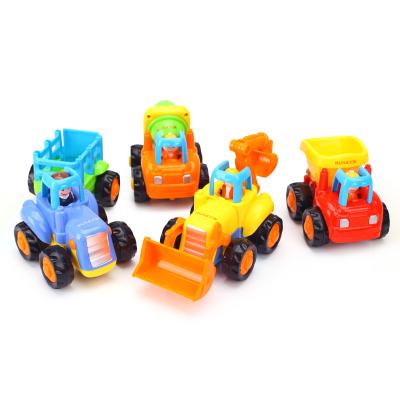 匯樂玩具(HUILE TOYS)快樂工程隊 326C/326D 慣性動力工程車男孩玩具車模型 單只裝 款式顏色隨機發貨
