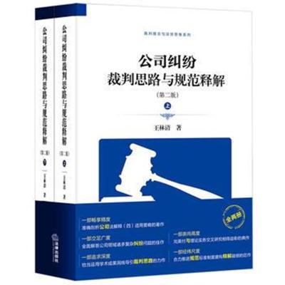 全新正版 公司糾紛裁判思路與規范釋解(第二版)