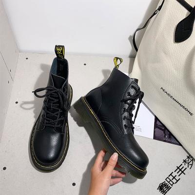 馬丁靴女夏季薄款英倫風春秋單靴2020年新款女鞋潮ins透氣短靴子