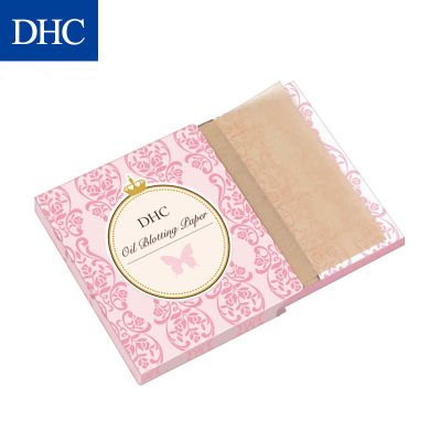 【官方直售】DHC吸油面紙(攜帶型) 65*100mm*100張 天然麻清潔毛孔控油補妝便攜吸油紙