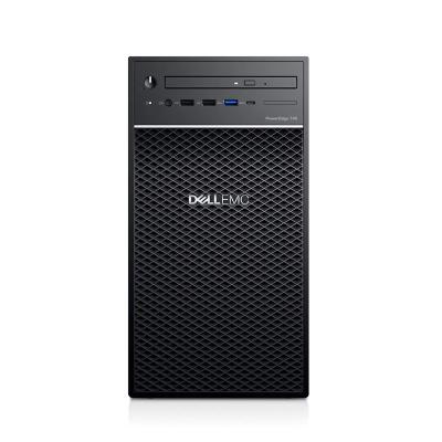 戴爾(DELL)T40小型塔式服務器主機臺式電腦整機ERP系統 E-2224G 3.5G 四核 8G內存丨1*1硬盤