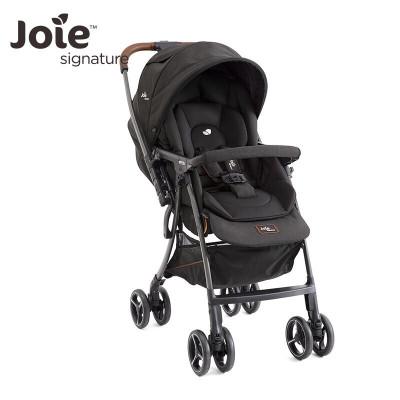 英國巧兒宜Joie嬰兒推車高景觀輕便折疊可換向寶寶手推車芙洛特-4WD flex-Signature 高級黑
