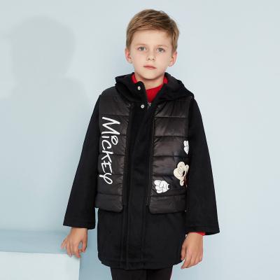 【3件1.5折价:119.4】moomoo童装男童外套冬季装迪士尼卡通加厚潮中大儿童大衣