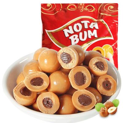 【第二份半价】俄罗斯进口KDV奶球糖500g袋装榛子果酱榛仁夹心糖果零食结婚喜糖批发