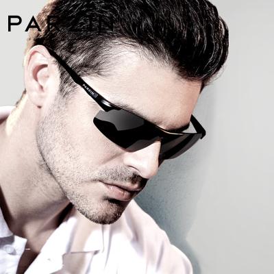帕森新款偏光太阳镜男士金属铝镁大框骑行驾驶开车眼镜运动潮墨镜8003A