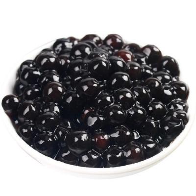 快煮琥珀珍珠粉圓黑珍珠木薯粉圓甜品珍珠波霸奶茶 黑珍珠900g