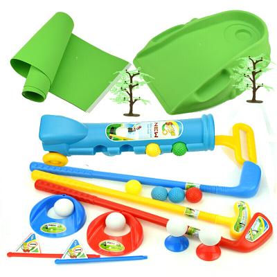 运动户外儿童高尔夫球杆套装宝宝户外亲子运动男女孩健身室内互动体育玩具放心购