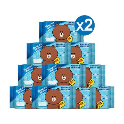 舒潔 濕廁紙家庭裝【40片*20包】 私處清潔濕紙巾濕巾 可搭配卷紙衛生紙使用 濕廁紙
