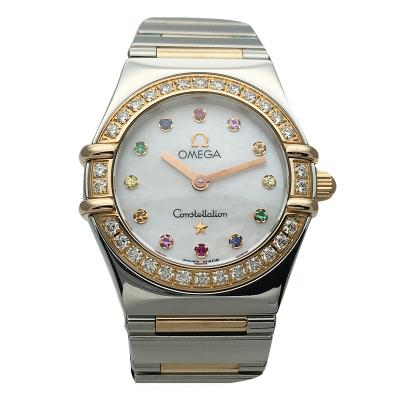 【二手95新】歐米茄OMEGA星座系列1368.79.00女表石英奢侈品鐘手表腕表