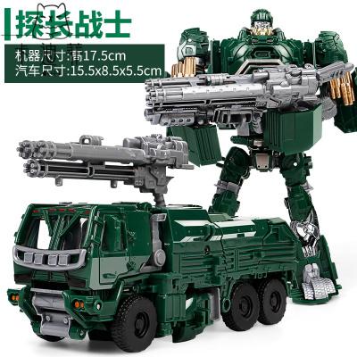 【品质优选】变形金刚玩具威震天坦克擎天柱大蜂机器人儿童男孩猫太子 探长战士【配送武器】