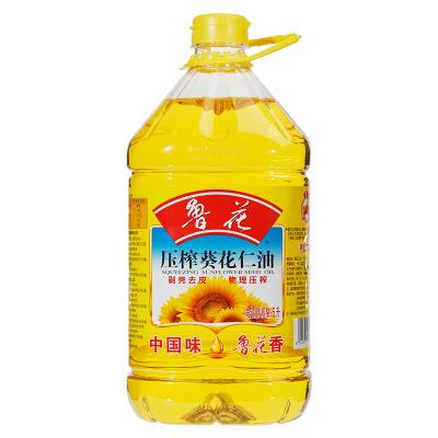 鲁花 食用油 物理压榨 剥壳去皮 葵花仁油5L*1