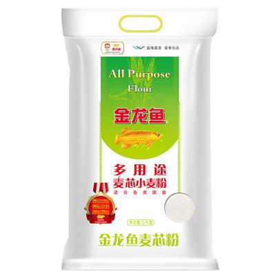 金龍魚 多用途麥芯粉 5kg 包子饅頭面條水餃通用粉 袋裝特制一等面粉
