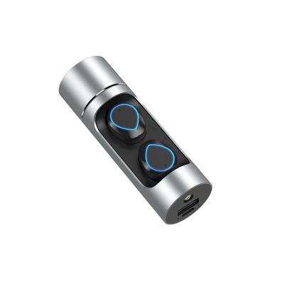AEITTO K08真無線藍牙耳機 游戲音樂運動迷你入耳式 適用于蘋果/華為/榮耀/oppo/vivo/小米銀