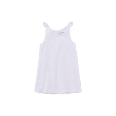 Жижиг улаан буурцагны хүүхдийн хувцас худалдааны төв нь ижил төстэй охидын зуны даавуун нөмрөг биелэгдэнэ юбка нь том хүүхдийн банзал GXQ640KB3 130cm цагаан цамц