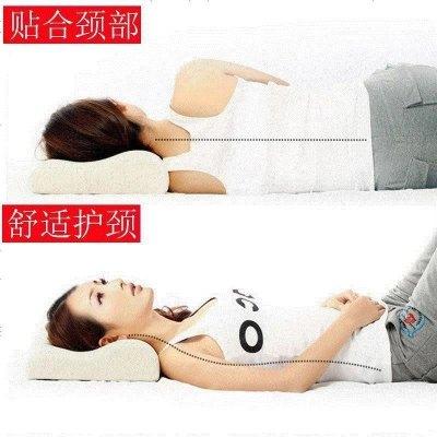 【含枕套】乳胶枕记忆棉失眠成人保健枕头枕芯护颈枕助睡眠枕