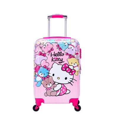 韩版行李箱女20寸18儿童拉杆箱24旅行箱男密码箱子学生皮箱小清新