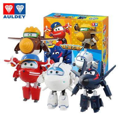 奥迪双钻(AULDEY) 超级飞侠变形机器人新角色4只装 米莉+酷雷+淘淘+金刚