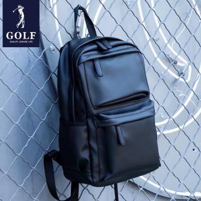 高爾夫(GOLF)雙肩包男士潮流旅行包大容量學生書包14寸電腦包商務休閑出差背包2020新品