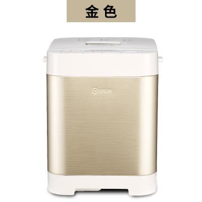 東菱(DonLim)面包機家用全自動揉面發酵小型早餐機多功能饅頭和面機正品 金色