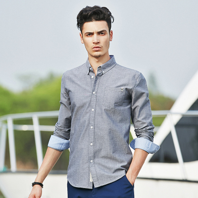 Эрэгтэй сорочкан цамц size L саарал 666211
