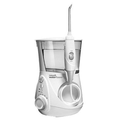 【10档水压可调】洁碧(Waterpik)WP-660 牙龈护理水箱值0.8通用 洁牙器 家用台式水瓶座系列 珍珠白